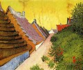 Street in Saintes Maries Vincent van Gogh