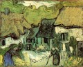 Thatched Cottages in Jorgus Vincent van Gogh