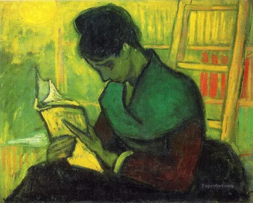 The Novel Reader Vincent van Gogh Oil Paintings