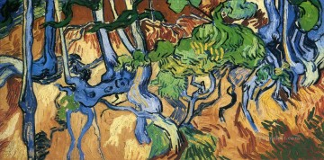 Tree roots Vincent van Gogh Oil Paintings