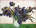 Vase with Irises Vincent van Gogh