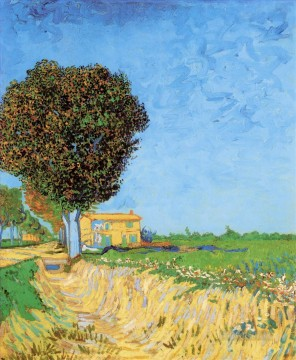 A Lane near Arles Vincent van Gogh Oil Paintings