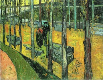 Vincent Van Gogh Painting - Alychamps Autumn Vincent van Gogh