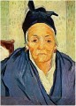 An Old Woman of Arles Vincent van Gogh