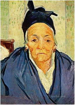 Vincent Van Gogh Painting - An Old Woman of Arles Vincent van Gogh