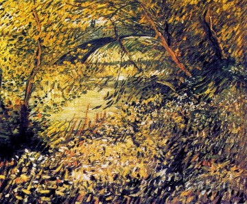 Vincent Van Gogh Painting - Banks of the Seine in the spring Vincent van Gogh