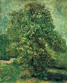 Chestnut Tree in Blossom 2 Vincent van Gogh