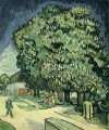 Chestnut Trees in Blossom Vincent van Gogh