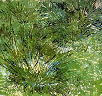 Clumps of Grass Vincent van Gogh Oil Paintings