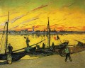 Coal Barges Vincent van Gogh