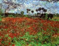 Field with Poppies Vincent van Gogh