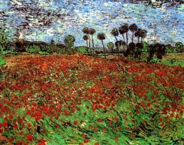 POP Works - Field with Poppies Vincent van Gogh