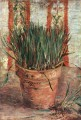 Flowerpot with Chives Vincent van Gogh