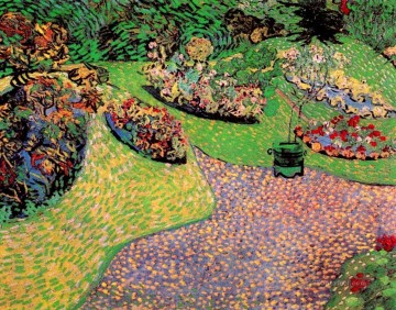 Vincent Van Gogh Painting - Garden in Auvers Vincent van Gogh