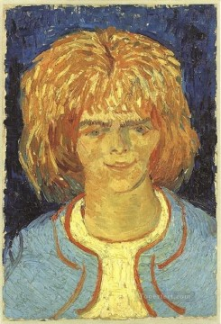 Vincent Van Gogh Painting - Girl with Ruffled Hair Vincent van Gogh