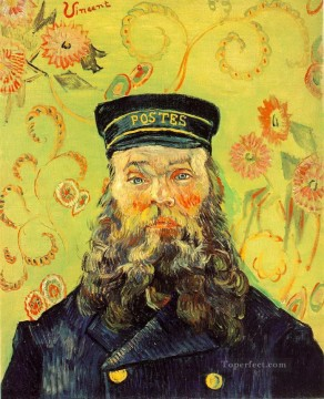 Joseph Etienne Roulin Vincent van Gogh Oil Paintings