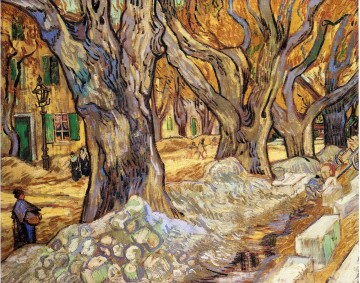 Vincent Van Gogh Painting - Large Plane Trees Vincent van Gogh