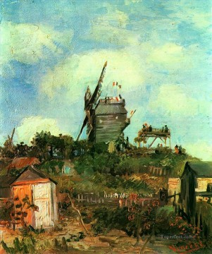 sunflowers vincent Painting - Le Moulin de la Gallette 3 Vincent van Gogh