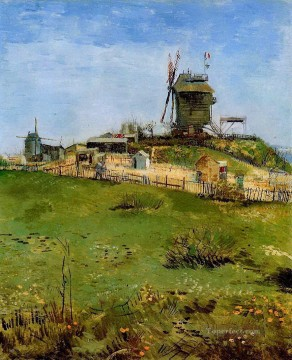 Le Moulin de la Gallette Vincent van Gogh Oil Paintings