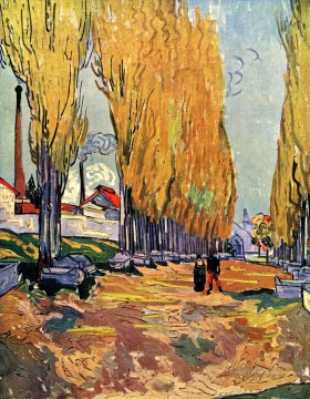 Les Alyscamps Vincent van Gogh Oil Paintings