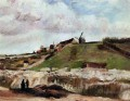 Montmartre the Quarry and Windmills Vincent van Gogh