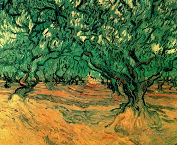 Olive Trees Vincent van Gogh Oil Paintings