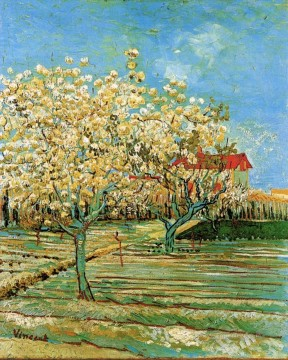 Vincent Van Gogh Painting - Orchard in Blossom 2 Vincent van Gogh