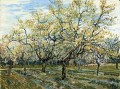 Orchard with Blossoming Plum Trees Vincent van Gogh