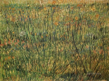 Vincent Van Gogh Painting - Pasture in Bloom Vincent van Gogh