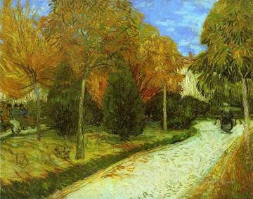Path in the Park at Arles Vincent van Gogh Oil Paintings
