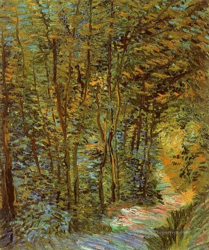 Path in the Woods Vincent van Gogh Oil Paintings