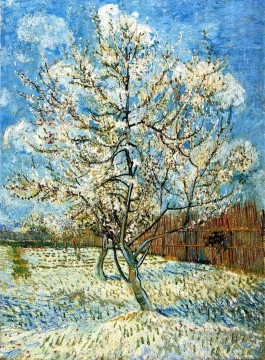 Vincent Van Gogh Painting - Peach Trees in Blossom 2 Vincent van Gogh