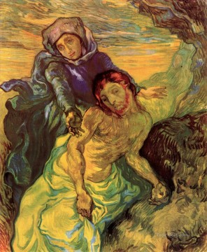Pieta Vincent van Gogh Oil Paintings