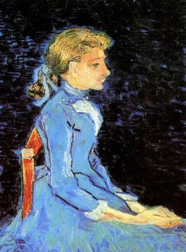 Portrait of Adeline Ravoux 2 Vincent van Gogh Oil Paintings