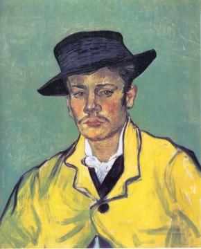 Vincent Van Gogh Painting - Portrait of Armand Roulin Vincent van Gogh