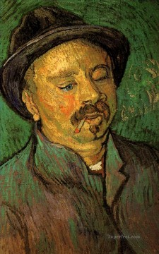 Vincent Van Gogh Painting - Portrait of a One Eyed Man Vincent van Gogh