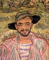 Portrait of a Young Peasant Vincent van Gogh