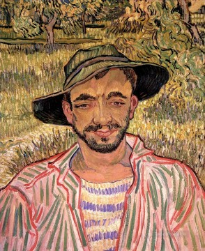 Vincent Van Gogh Painting - Portrait of a Young Peasant Vincent van Gogh
