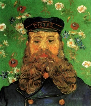 Gogh Canvas - Portrait of the Postman Joseph Roulin 2 Vincent van Gogh