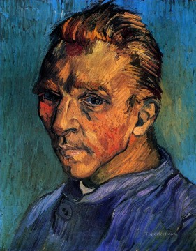 Self Portrait 6 1889 Vincent van Gogh Oil Paintings