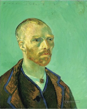 Dedicated Art - Self Portrait Dedicated to Paul Gauguin Vincent van Gogh