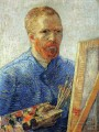 Self Portrait as an Artist Vincent van Gogh