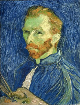 Self Portrait with Pallette Vincent van Gogh Oil Paintings