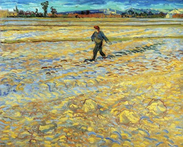 Vincent Van Gogh Painting - Sower Vincent van Gogh