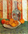 Still Life with Decanter and Lemons on a Plate Vincent van Gogh