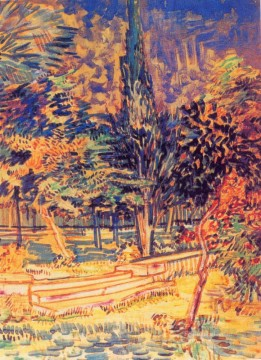 Vincent Van Gogh Painting - Stone Steps in the Garden of the Asylum Vincent van Gogh