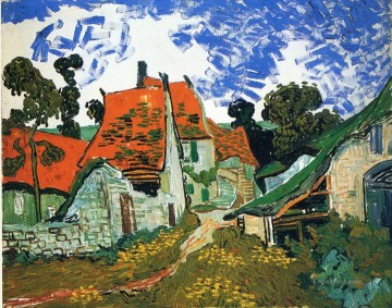 Street in Auvers sur Oise Vincent van Gogh Oil Paintings
