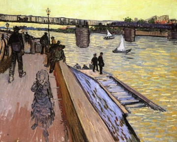 The Bridge at Trinquetaille Vincent van Gogh Oil Paintings
