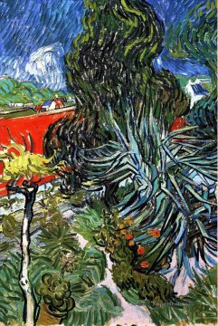 The Garden of Doctor Gachet at Auvers sur Oise Vincent van Gogh Oil Paintings