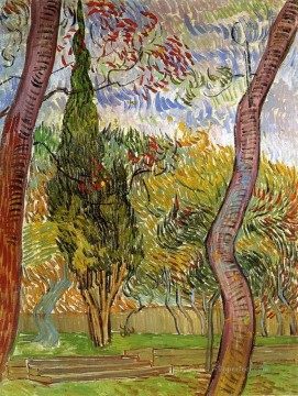 The Garden of Saint Paul Hospital 2 Vincent van Gogh Oil Paintings